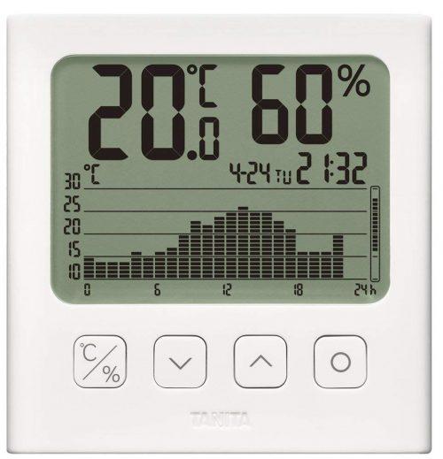 タニタ(TANITA) デジタル温湿度計 グラフ付  TT-580