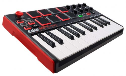 アカイ(AKAI) MPK mini MK2 Compact Keyboard and Pad Controller