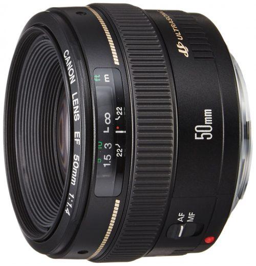 キヤノン(Canon) EF50mm F1.4 USM フルサイズ対応
