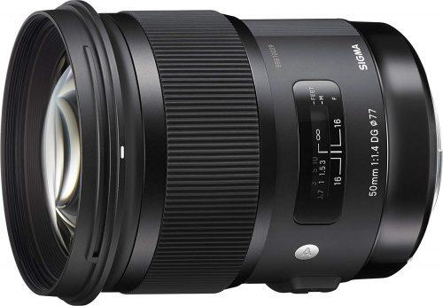シグマ(SIGMA) 単焦点標準レンズ Art 50mm F1.4 DG HSM キヤノン用 フルサイズ対応 311544