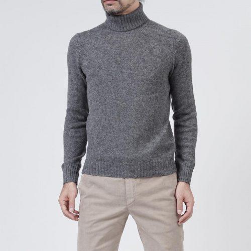 グランサッソ(GRANSASSO) ハイネックセーター