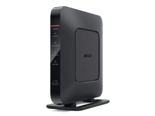 バッファロー(BUFFALO) WiFi無線LAN ルーター WSR-1166DHP3/MBK