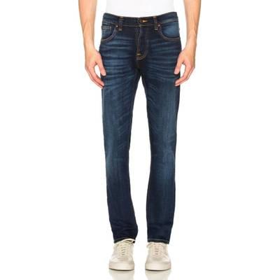 ヌーディージーンズ(Nudie Jeans) グリムティム Dark Deep Worn