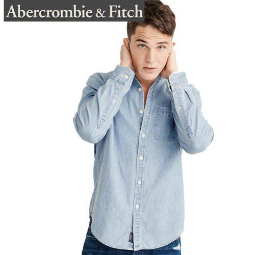 アバクロンビー アンド フィッチ(Abercrombie & Fitch) 長袖ダンガリーシャツ
