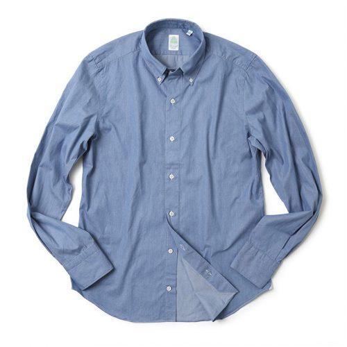 フィナモレ(FINAMORE) ボタンダウンダンガリーシャツ