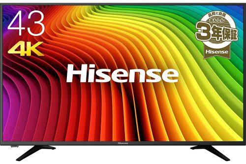 ハイセンス(HISENSE) 43V型 4K対応液晶テレビ 43A6100