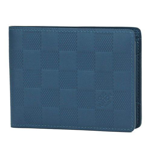 ルイ・ヴィトン(LOUIS VUITTON) 二つ折り財布 ダミエ・アンフィニ ポルトフォイユ・ミュルティプル N63206