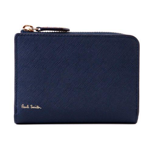 ポールスミス(Paul Smith) 二つ折り財布 ジップストローグレイン 873219 P784