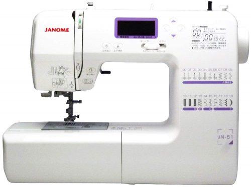 ジャノメ(JANOME) コンピューターミシン JN-51