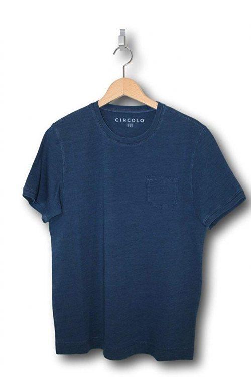 チルコロ 1901(CIRCOLO 1901) クルーネックポケットTシャツ