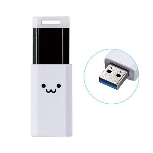 エレコム(ELECOM) USBメモリ 32GB MF-PKU3032GWHF