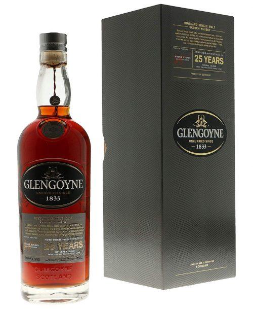 グレンゴイン(GLENGOYNE) 25年 スコッチ シングルモルト