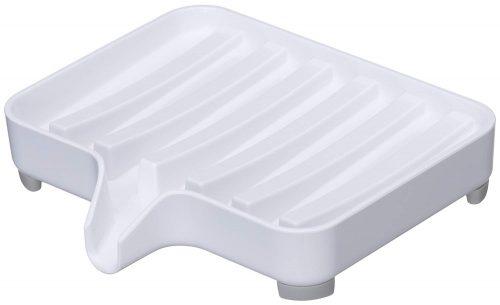 山崎実業 石鹸置き 水が流れる ソープトレー ミスト 3249