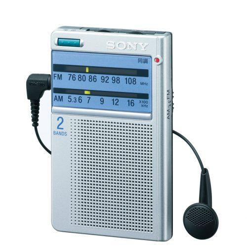 ソニー(SONY) FM/AMポケッタブルラジオ ICF-T46