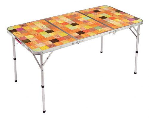 コールマン(Coleman) テーブル ナチュラルモザイクリビングテーブル 140プラス