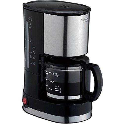 シロカ(siroca) ドリップ式コーヒーメーカー SCM-401
