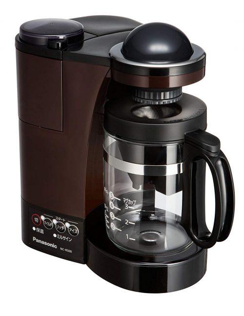 パナソニック(Panasonic) ミル付き浄水コーヒーメーカー NC-R500