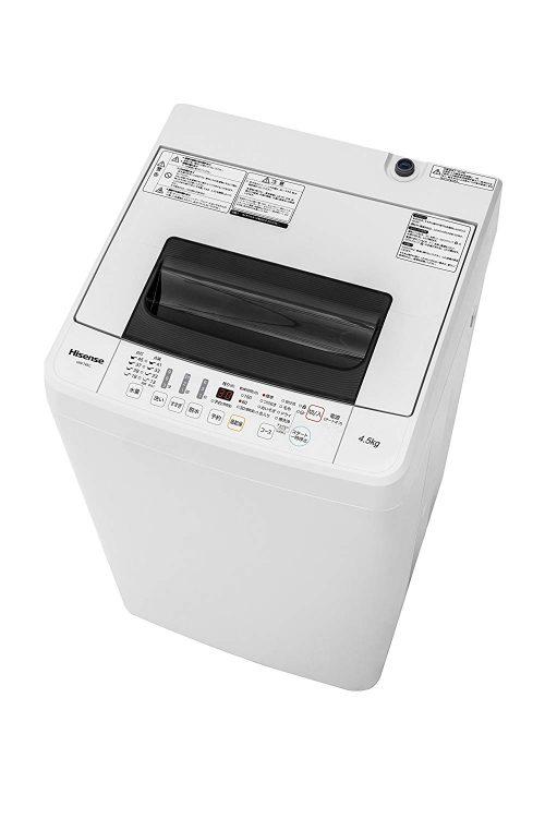 ハイセンス(HISENSE) 全自動洗濯機 4.5kg HW-T45C