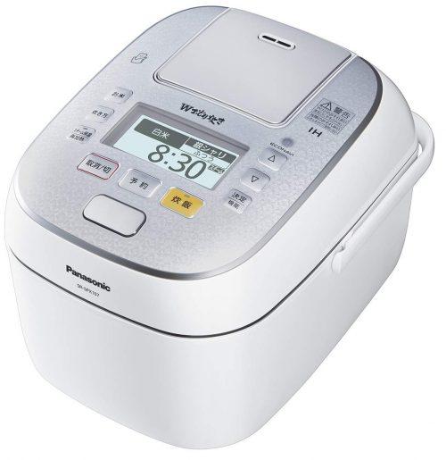 パナソニック(Panasonic) スチーム&可変圧力IHジャー炊飯器 SR-SPX107 5.5合