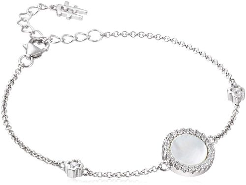 フォリフォリ(Folli Follie) Heart4Heart Mirrors Silver 925 Rhodium Plated Bracelet