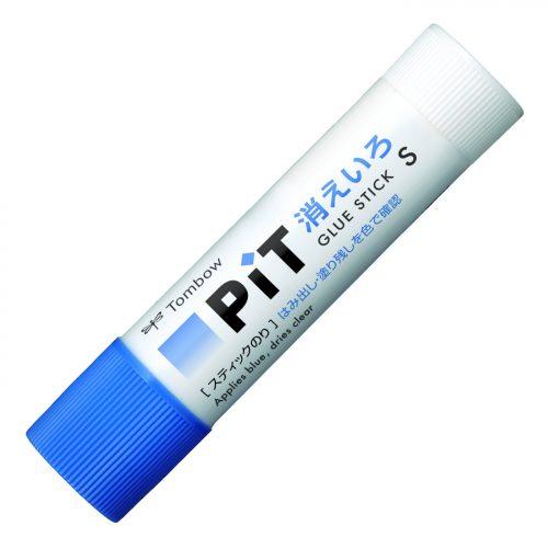 トンボ鉛筆(Tombow) スティックのり 消えいろPIT S 細塗り PT-TC