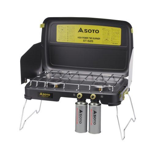 ソト(SOTO) ハイパワー2バーナー ST-525