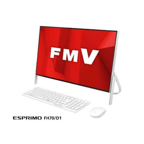 富士通(FUJITSU) ESPRIMO FH70/D1 23.8型ディスプレイ FMVF70D1W