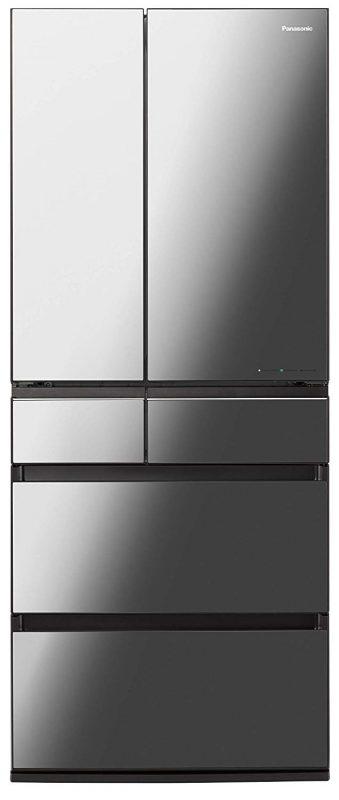 パナソニック(Panasonic) 冷蔵庫 6ドア 650L NR-F655WPX-X