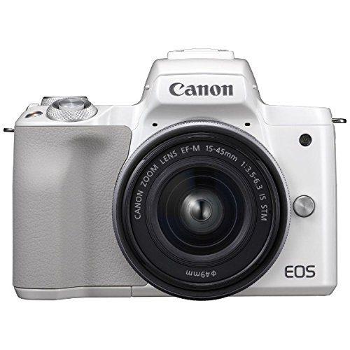 キヤノン(Canon) ミラーレス一眼カメラ EOS Kiss M EF-M15-45