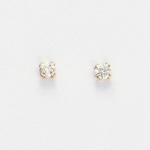 フィービィー(Phoebe) K10 プチダイヤモンドピアス