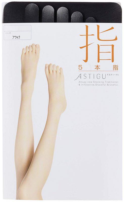 アツギ(ATSUGI) ASTIGU 5本指 ストッキング 指