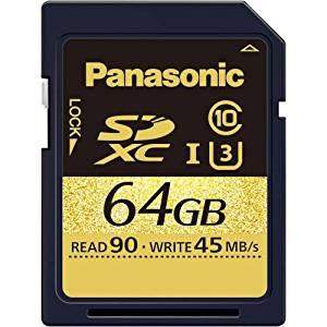 パナソニック(Panasonic) SDXCメモリーカード 64GB RP-SDUC64GJK