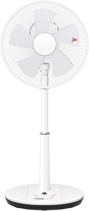 山善(YAMAZEN) リビング扇風機 YLRX-BK304