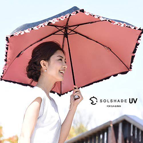 晴雨兼用 軽量折りたたみ傘