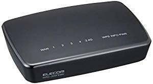 エレコム(ELECOM) 無線LAN中継器 WRC-300FEBK-R