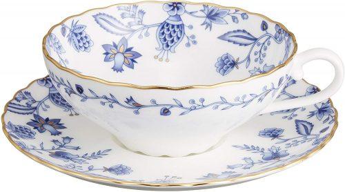 ノリタケ(NORITAKE) ブルーソレンティーノ ティー碗皿 T58043A 4562