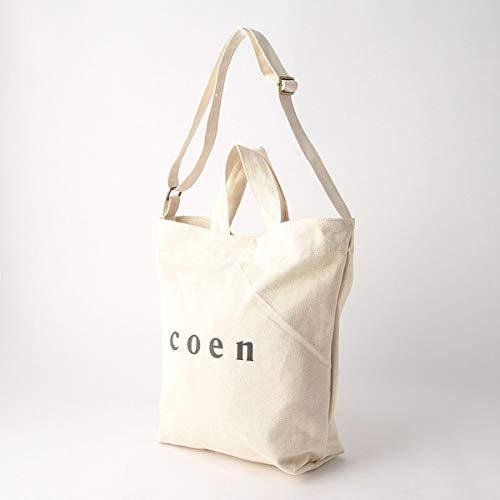 コーエン(coen) 2WAYロゴトートバッグ