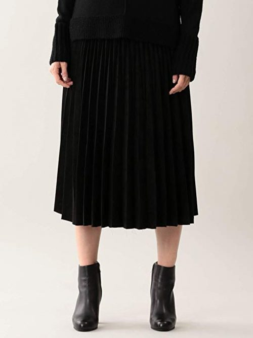エポカ(EPOCA) スエードプリーツスカート
