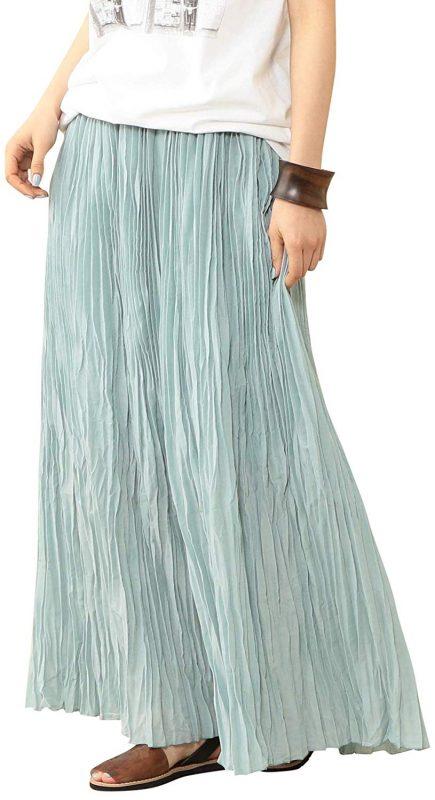ビューティアンドユース ユナイテッドアローズ(BEAUTY&YOUTH UNITED ARROWS) ワッシャープリーツマキシスカート