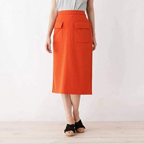 シューラルー(SHOO・LA・RUE) フラップポケットポンチタイトスカート