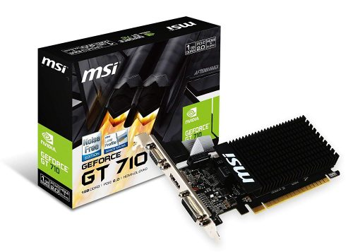 エムエスアイ(MSI) PCI Express Solution グラフィックスカード GT710 1GD3H LP