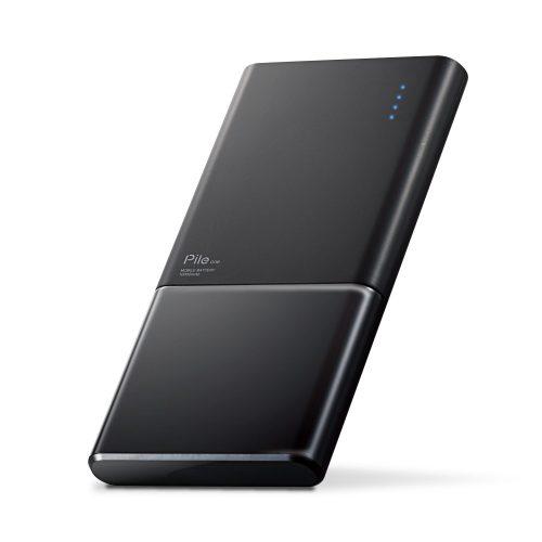 エレコム(ELECOM) 薄型モバイルバッテリー Pile one 10000mAh DE-M08-N10048