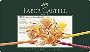 ファーバーカステル ポリクロモス色鉛筆120色 110011