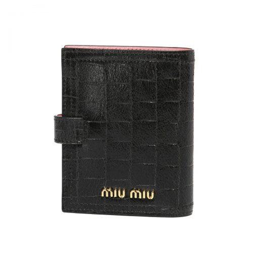 ミュウミュウ(Miu Miu) ST.COCCO 二つ折り財布