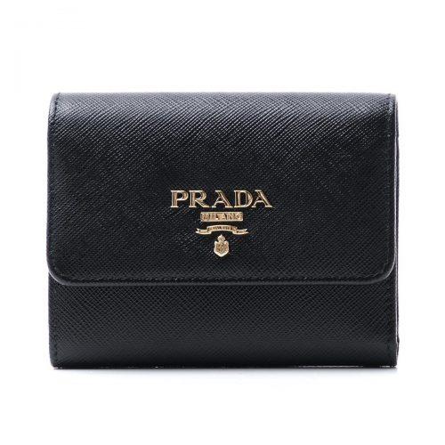 プラダ(PRADA) 3つ折り財布 小銭入れ付き SAFFIANO サフィアーノ