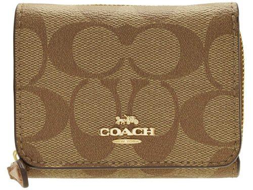コーチ(COACH) 折財布 三つ折り シグネチャー ミニ コンパクト