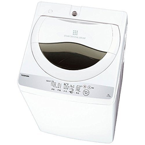 東芝(TOSHIBA) 全自動洗濯機 5kg AW-5G6