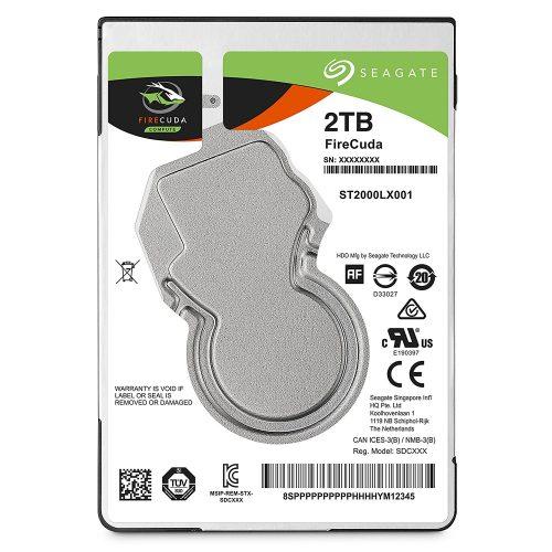シーゲート(SEAGATE) 内蔵HDD FireCuda 2TB ST2000LX001