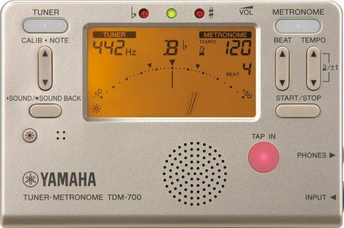 ヤマハ(YAMAHA) チューナーメトロノーム TDM-700G