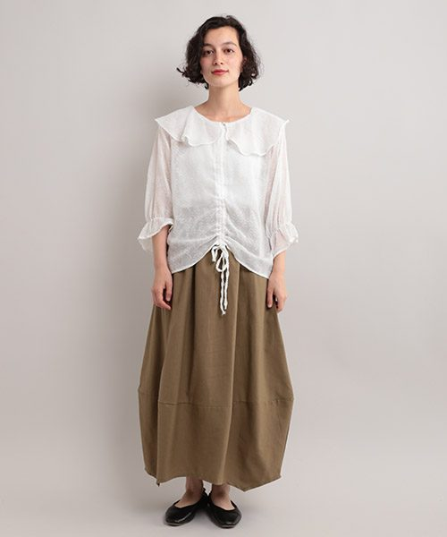 フィリル(fillil) 変形コクーンシルエットスカート
